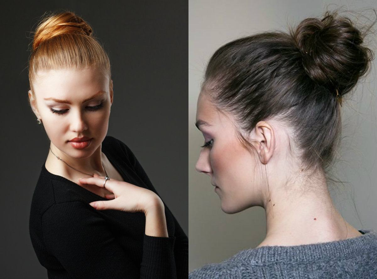Elegant Ballerina Bun Hairstyles 2017 For Dainty Looks