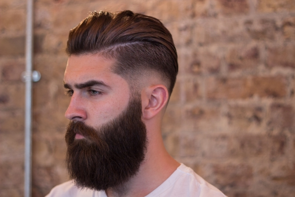 mens-short-haircuts-with-long-beards-2017