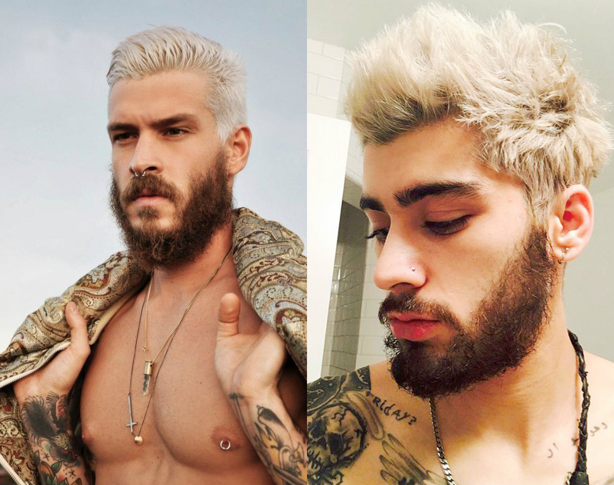new-blonde-hairstyles-for-men-with-dark-beard-2017