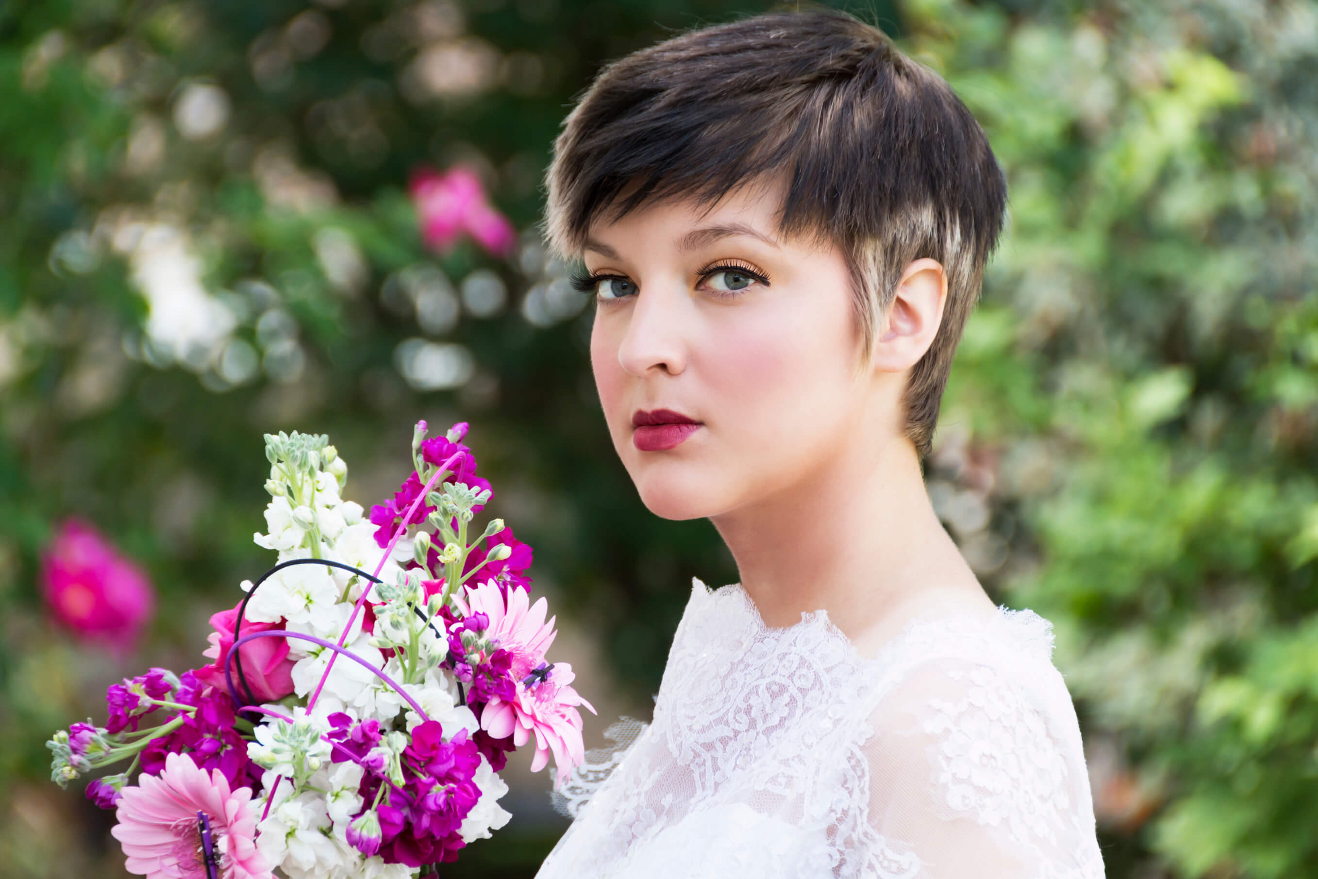 short haircuts for wedding