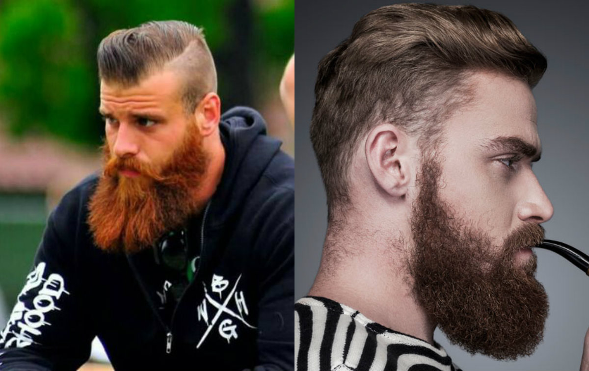 side-swept-hairstyles-for-men-with-long-beards