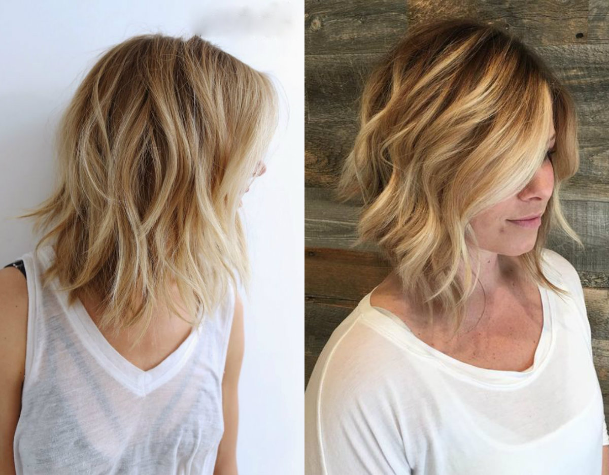 Cutest Beach Wavy Bob Hairstyles Hairdrome Com