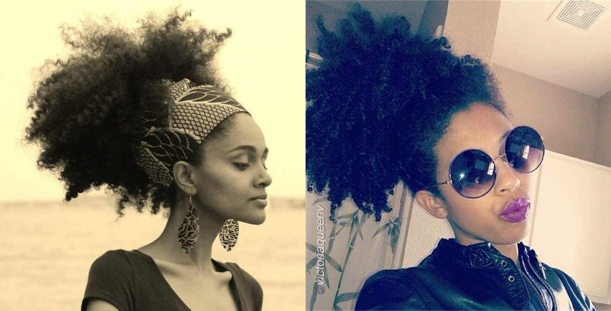 Astounding Black Women Afro Puffs You Have To Try Hairstyles