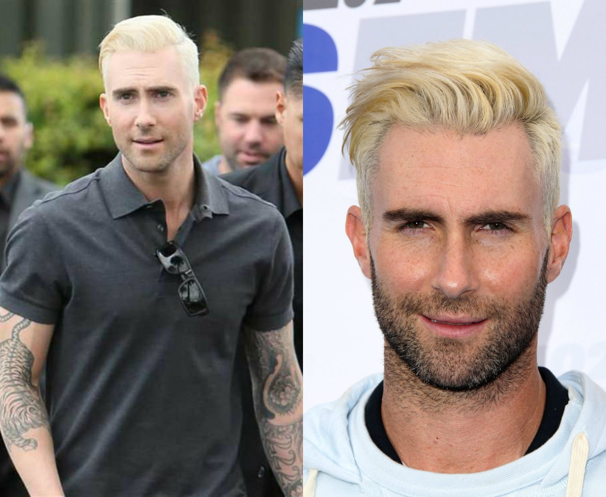platinum blonde mens hairstyles to be the trend