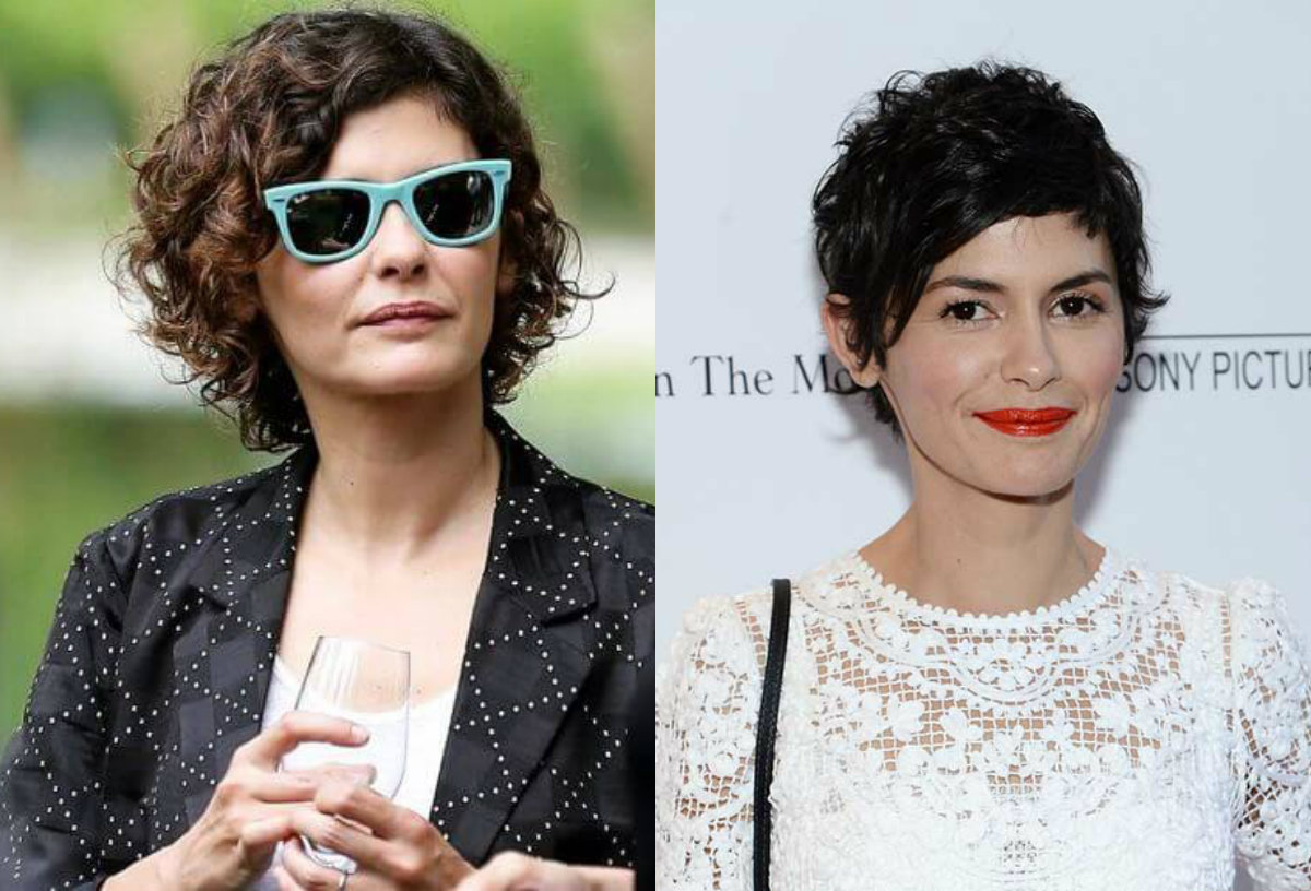 audrey-tautou-short-curly-hairstyles
