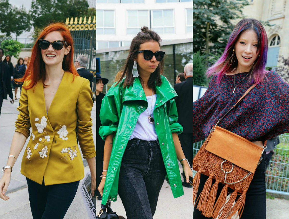 pfw street style hairstyles trends 2017 spring hairdrome com