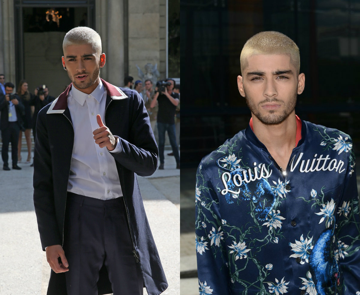 zayn-malik-platinum-blonde-hair