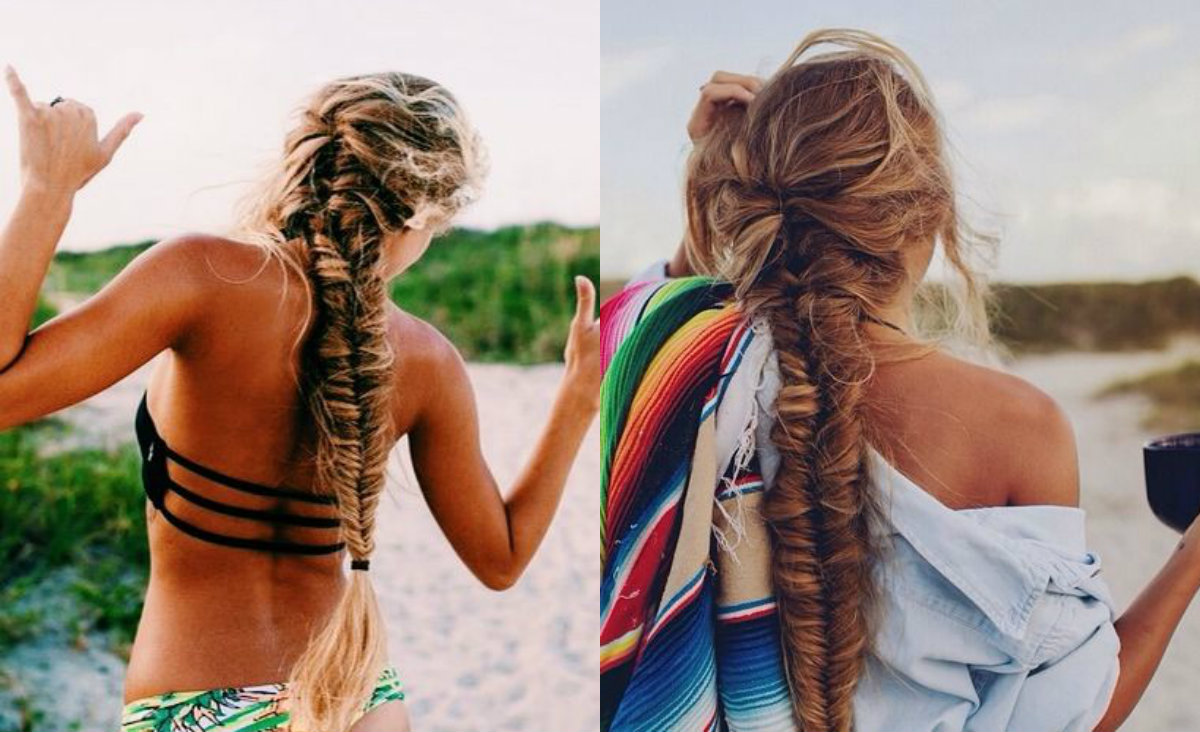beachy-messy-fishtails