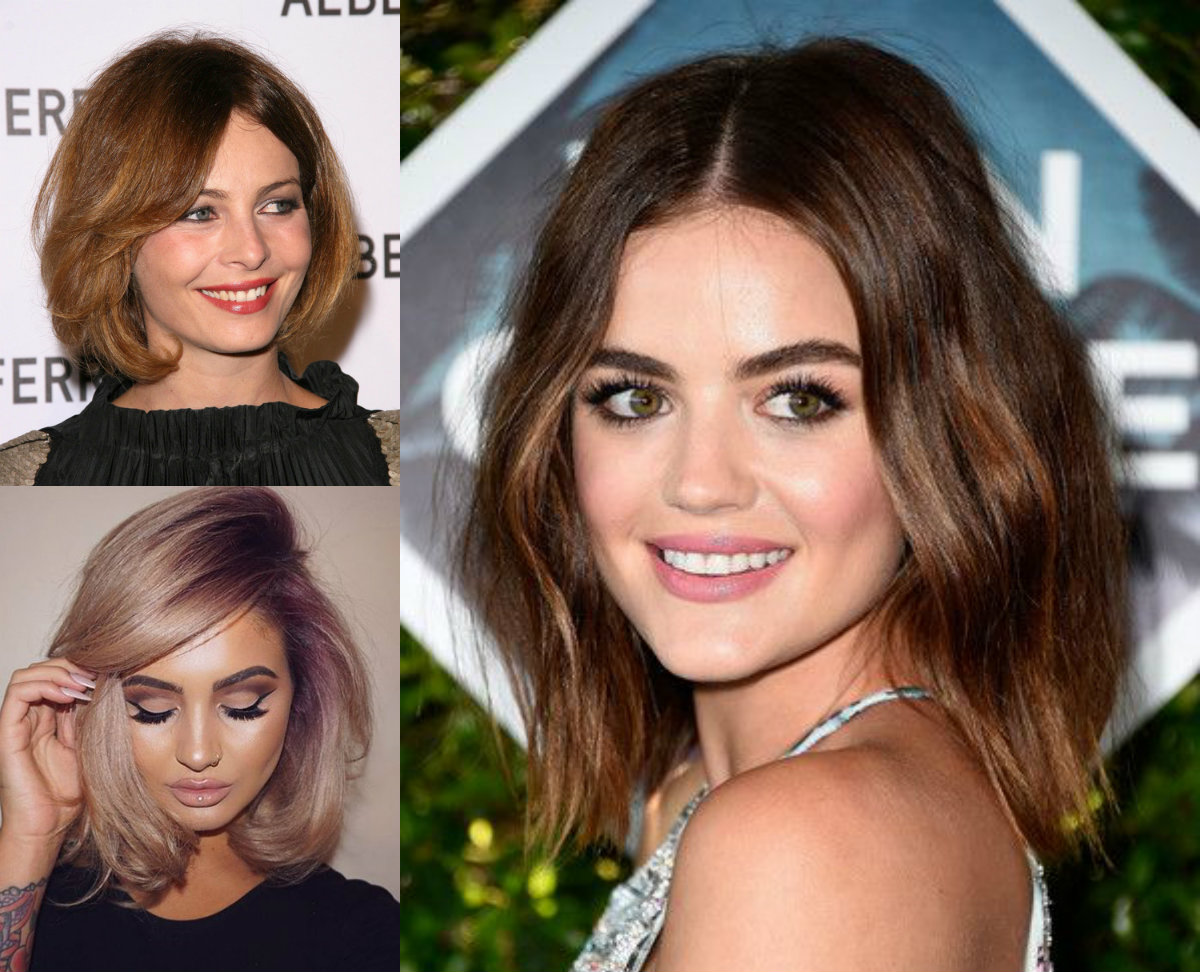 Best Bob Haircuts For Round Face