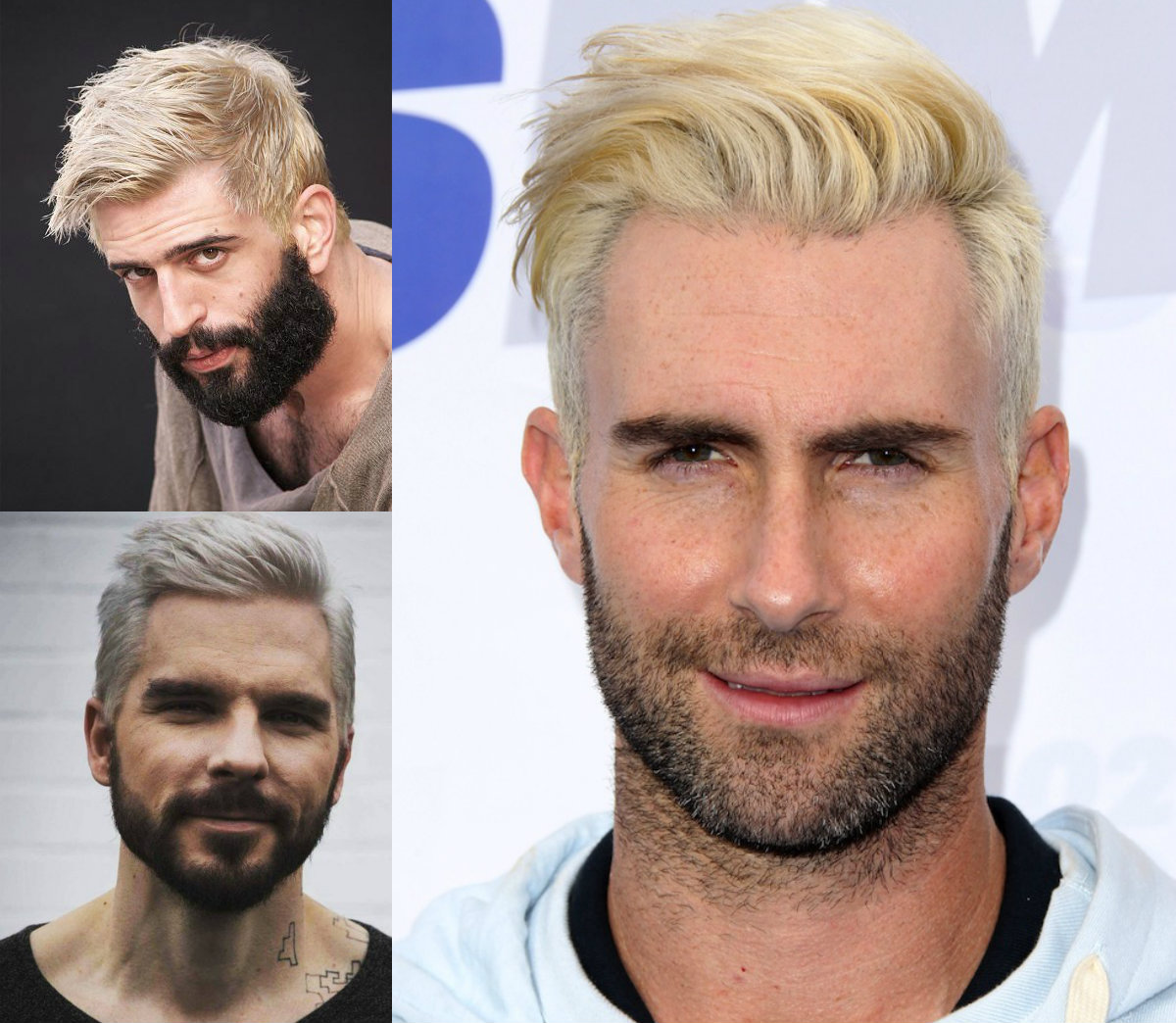 Platinum Blonde Mens Hairstyles To Be The Trend Hairdrome