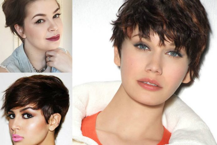 best-short-haircuts-for-round-faces-2017