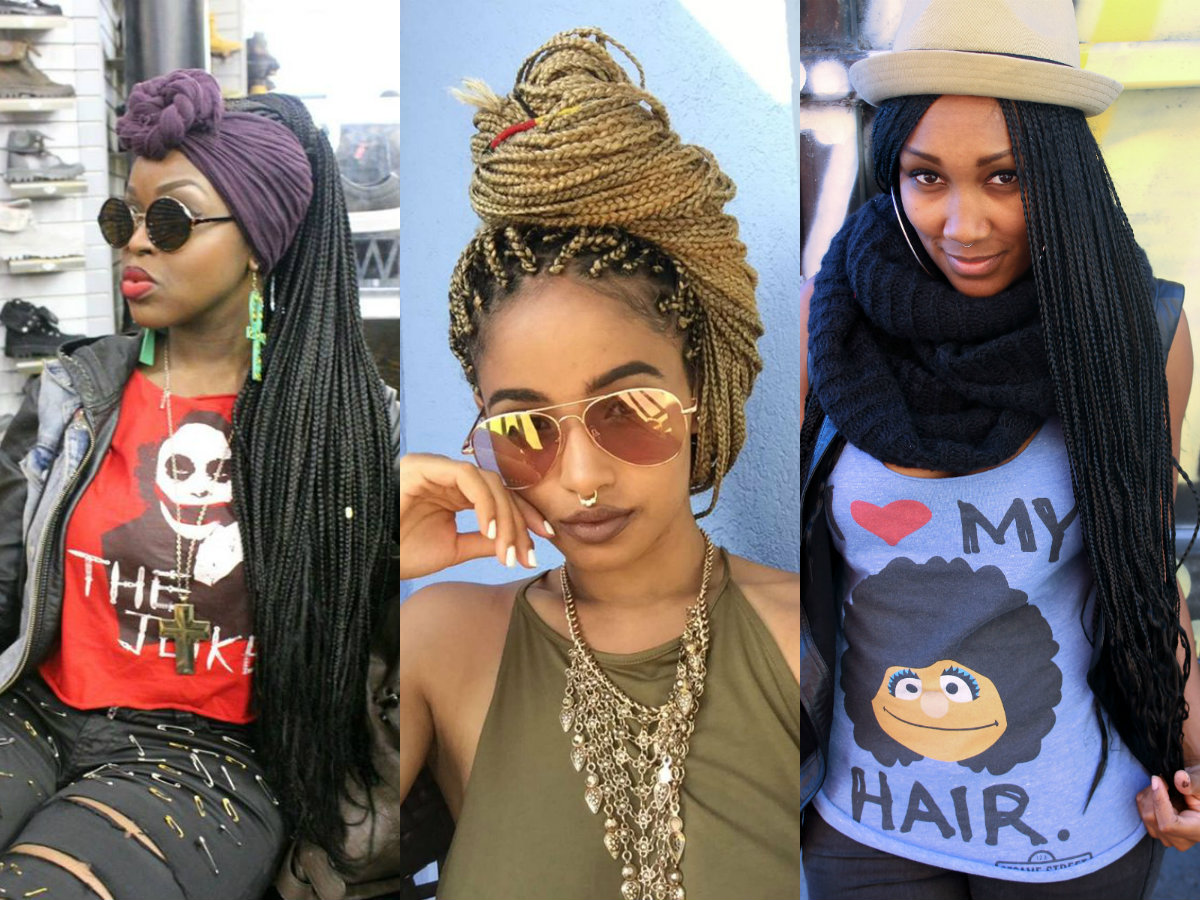 Spectacular Long Box Braids Hairstyles 2017 | Hairdrome.com