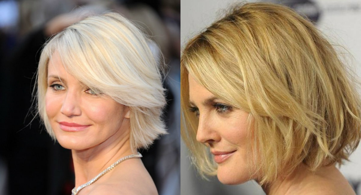 Top 10 short haircuts for round faces - Hair Style 2019
