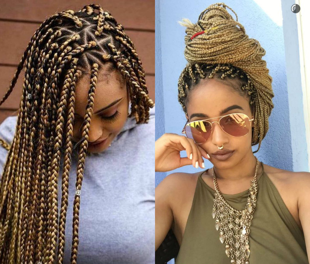Braid Hairstyles: Spectacular Long Box Braids Hairstyles 2017