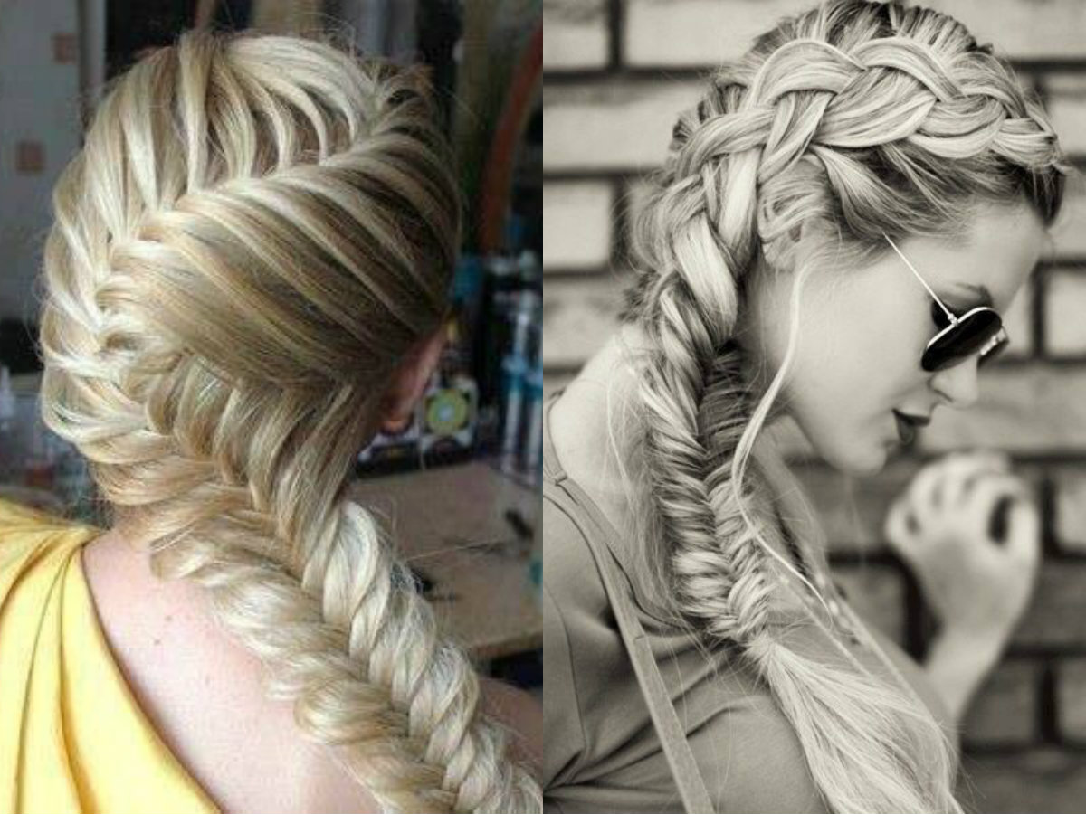 cute-blonde-fishbone-braid