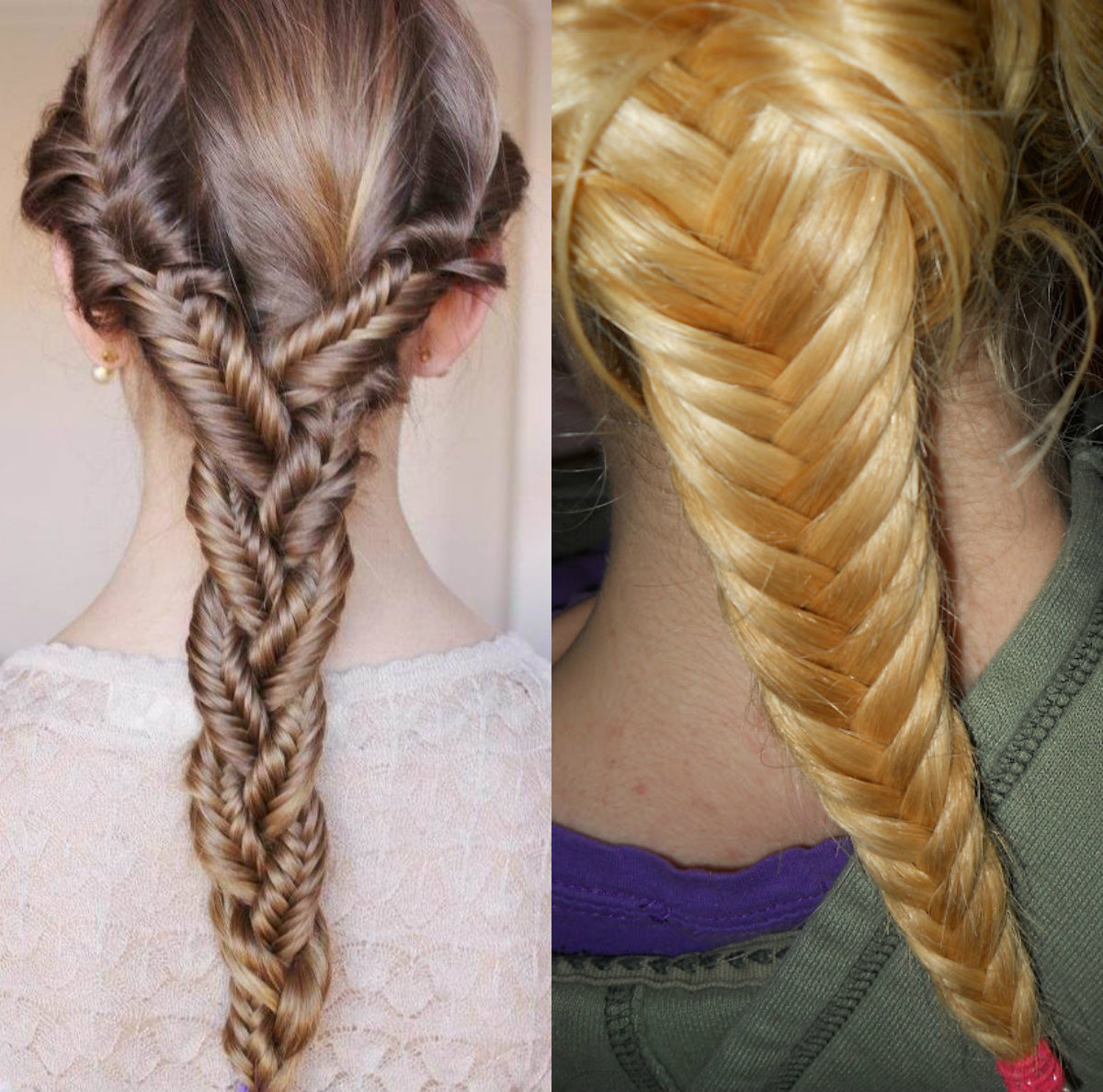 Fishbone braid hairstyles ideas to try for Fish tail hair