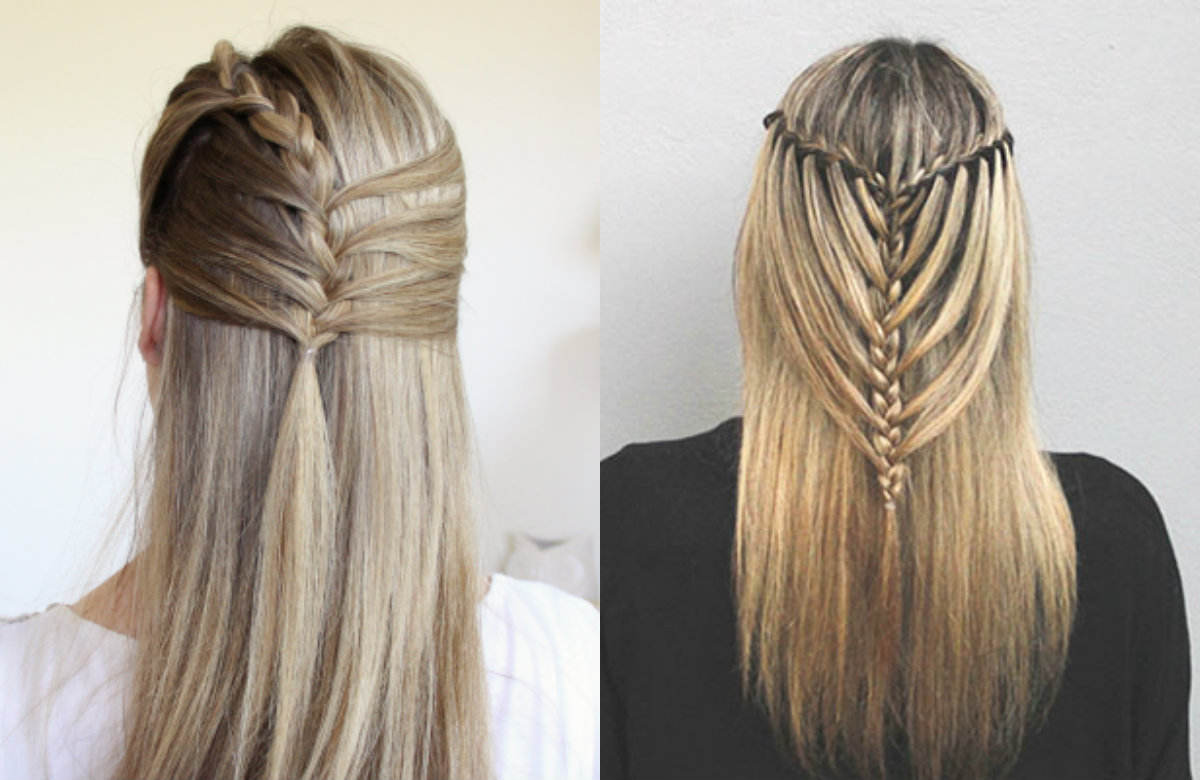 Inspiring Half Up Mermaid Braids To Impress Everybody | Hairdrome.com