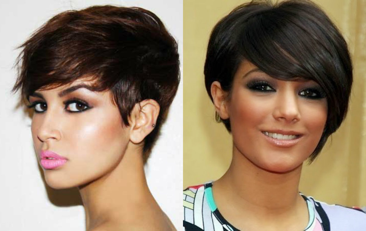 Awe Inspiring Best Pixie Haircuts For Round Faces 2017 Hairdrome Com Short Hairstyles For Black Women Fulllsitofus