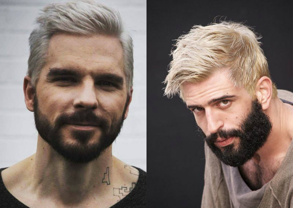 Platinum Blonde Men S Hairstyles To Be The Trend