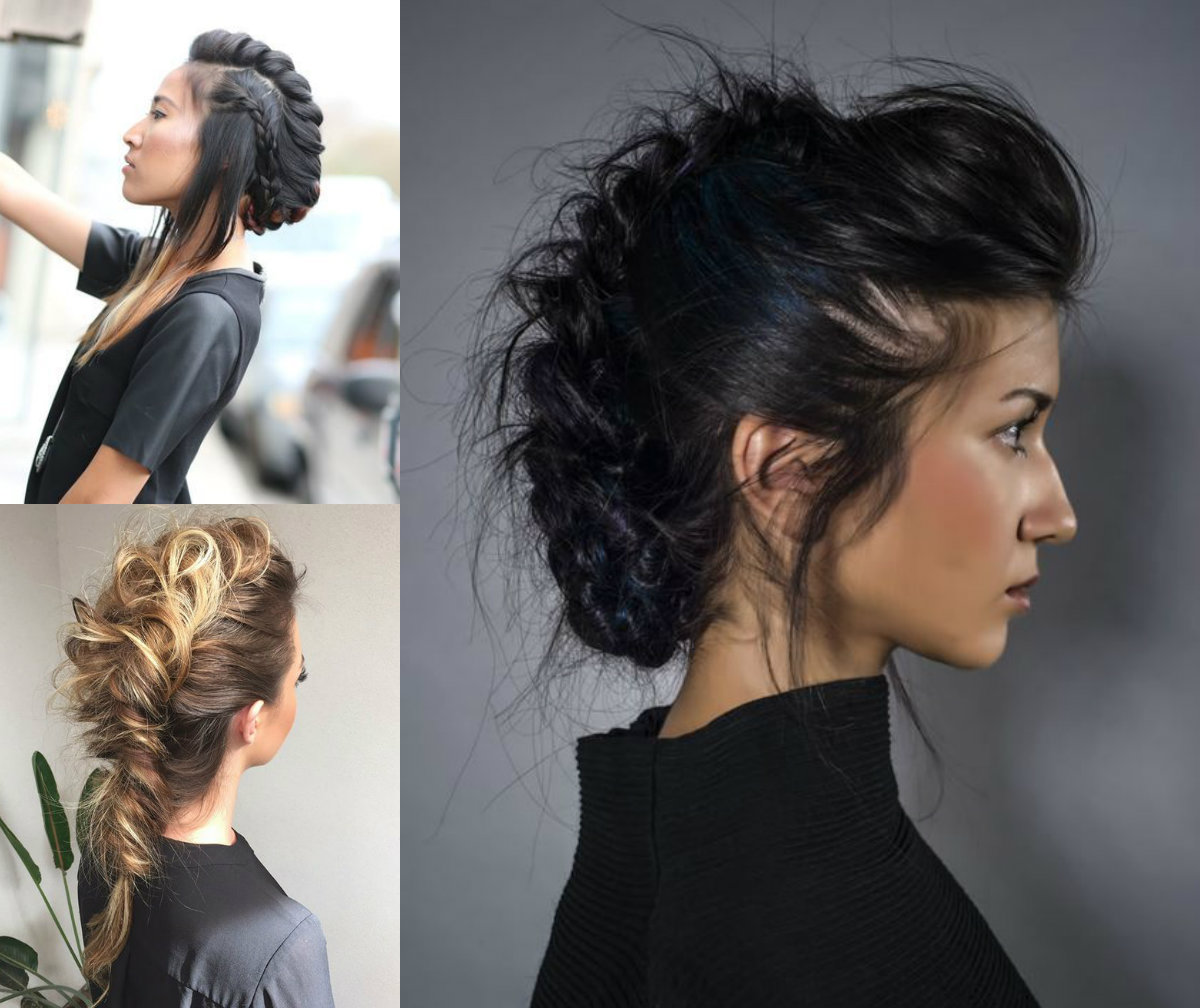 Expressive Women Braided Mohawk Hairstyles Hairdrome