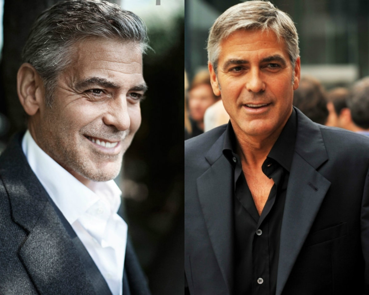 george-clooney-signature-short-grey-haircuts