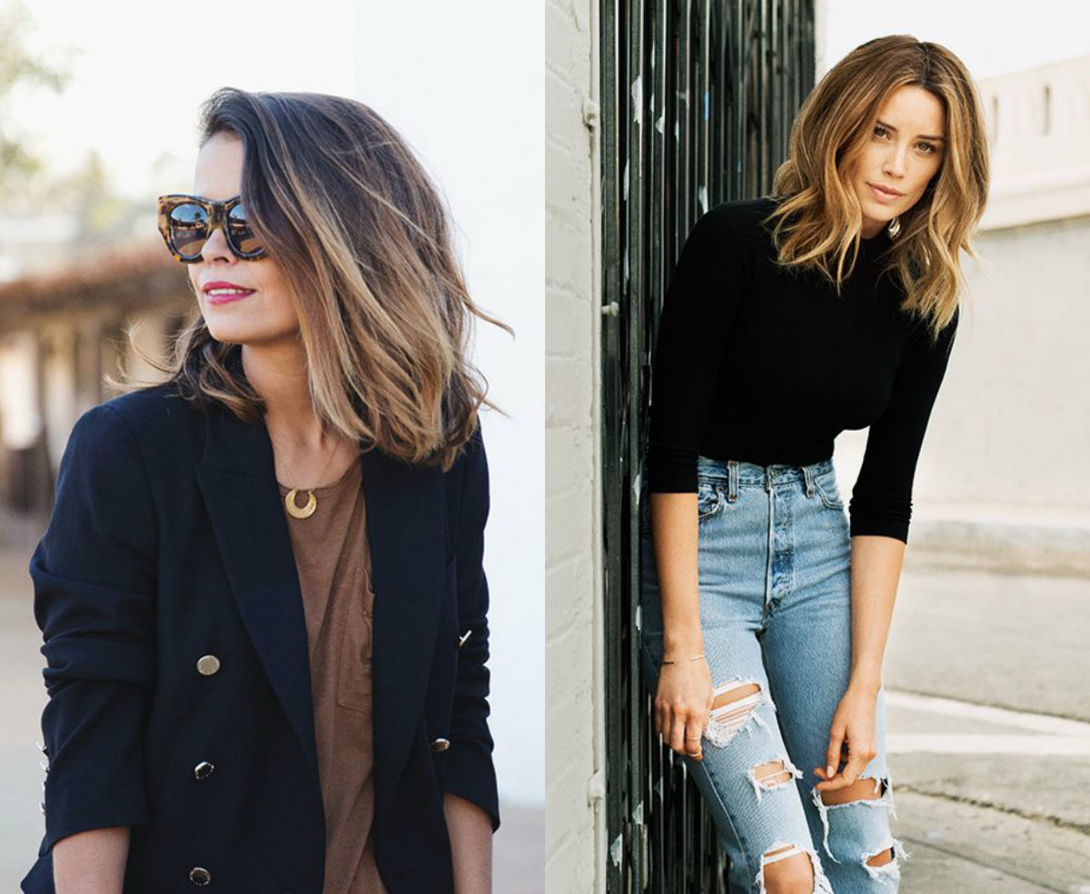 Enchanting Ombre Lob Hairstyles Hairdrome Com