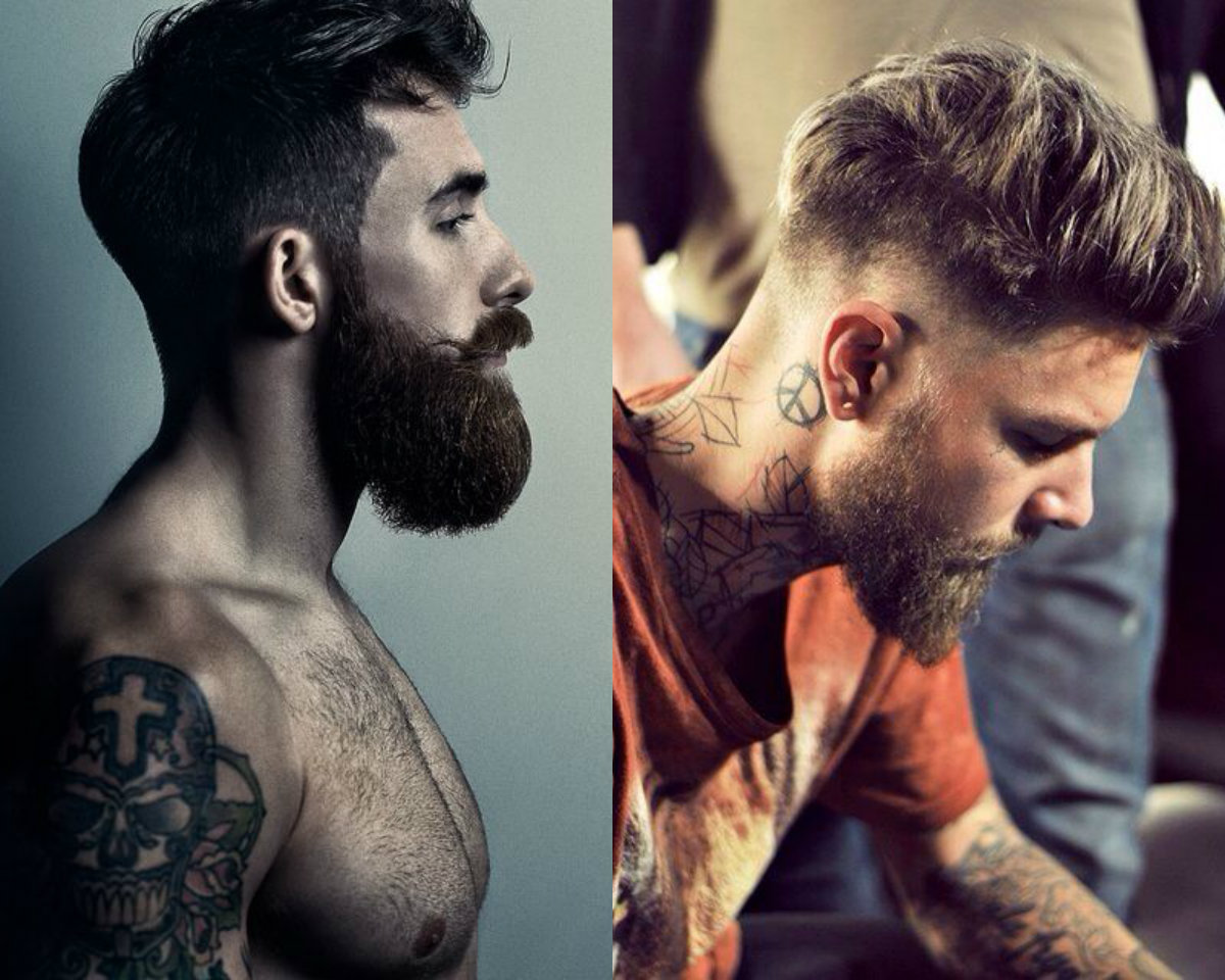 Cool Undercut With Beard Mens Hairstyles 2017 | Hairdrome.com