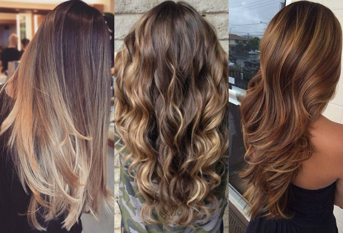 Hypnotizing Long Brown Hair With Highlights Hairdrome