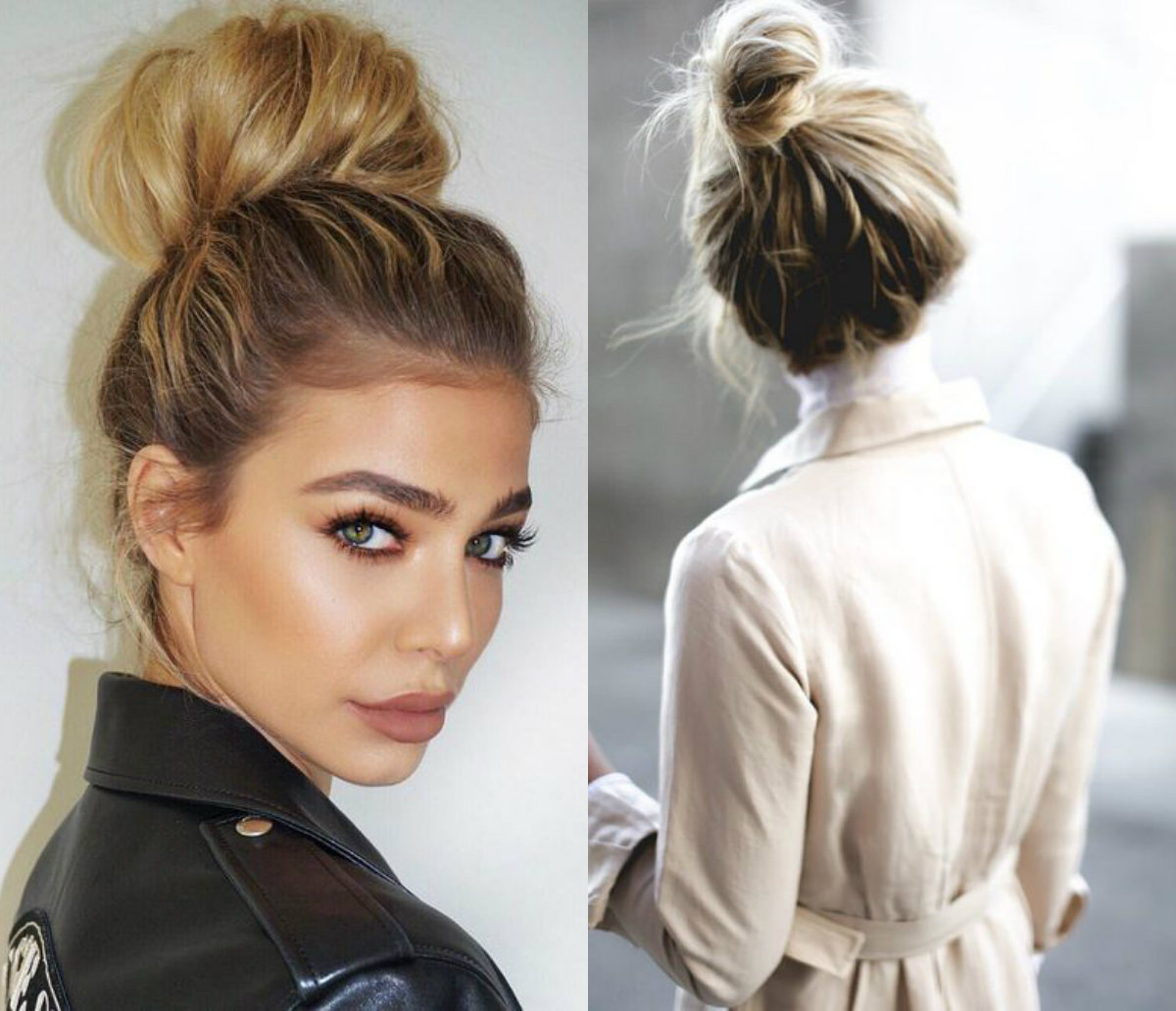 casual-top-knots-hairstyles