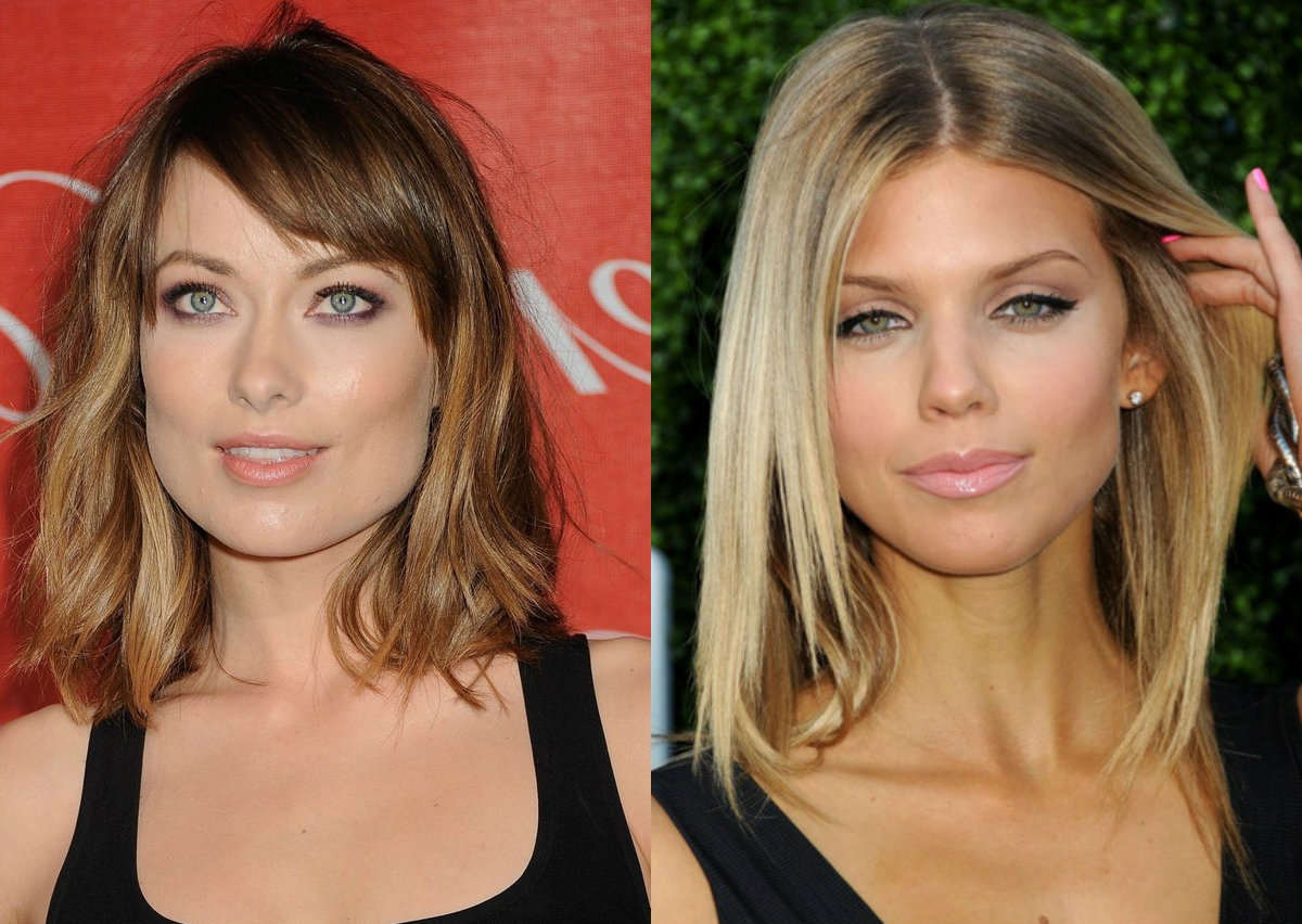 celebrity-mid-length-hairstyles-2017