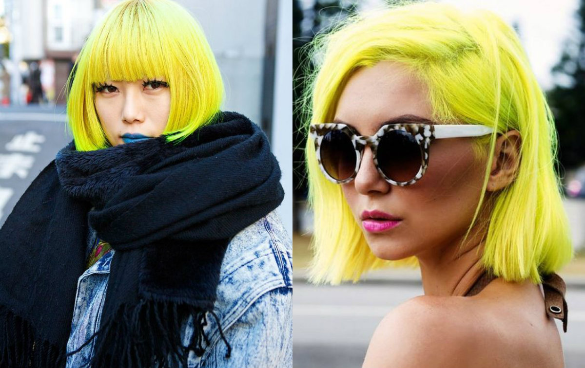 Cool Hair Color Styles: Fierce Yellow Hair Colors And Hairstyles