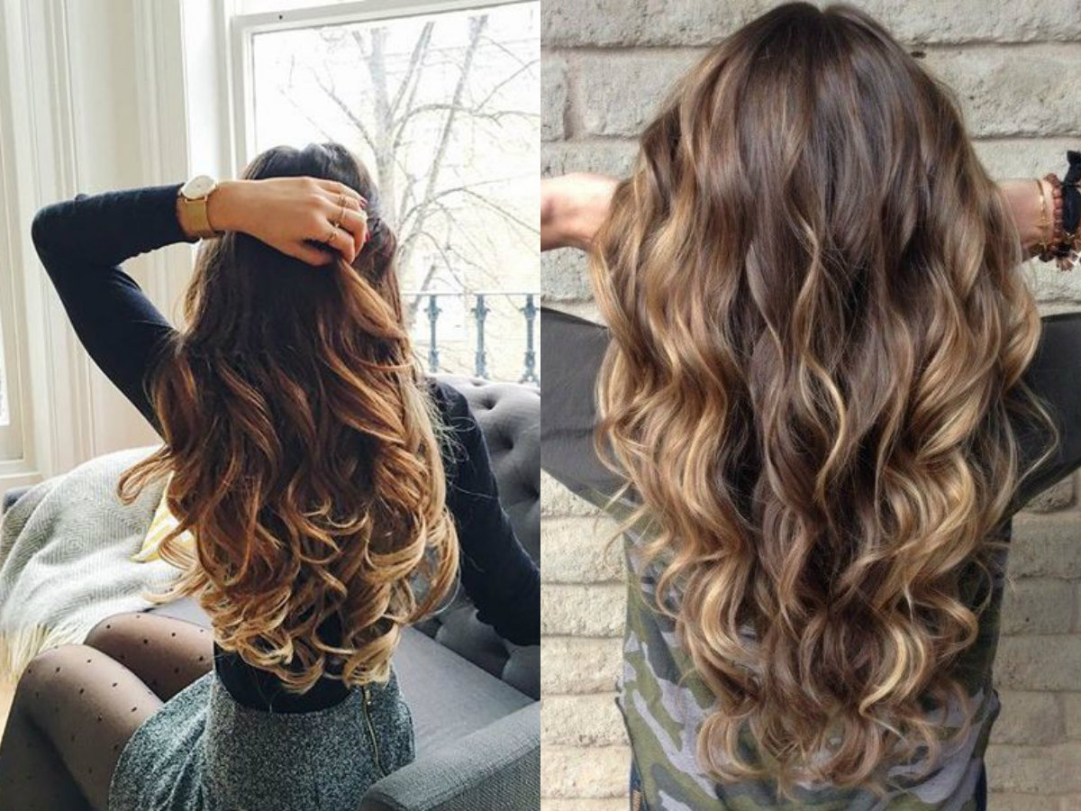 Hypnotizing Long Brown Hair With Highlights Hairdrome Com