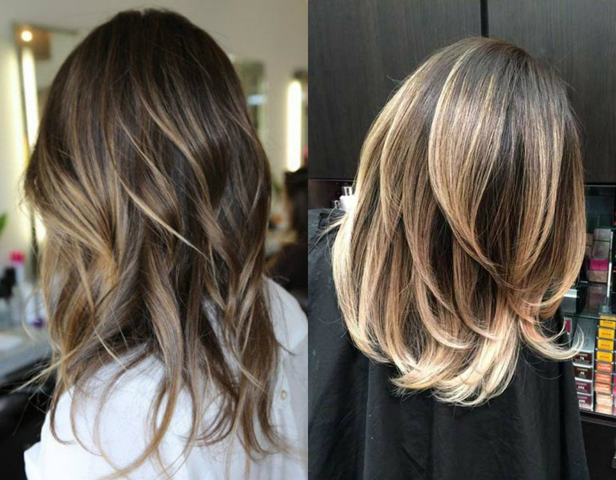 cute-blonde-highlights-for-dark-hair
