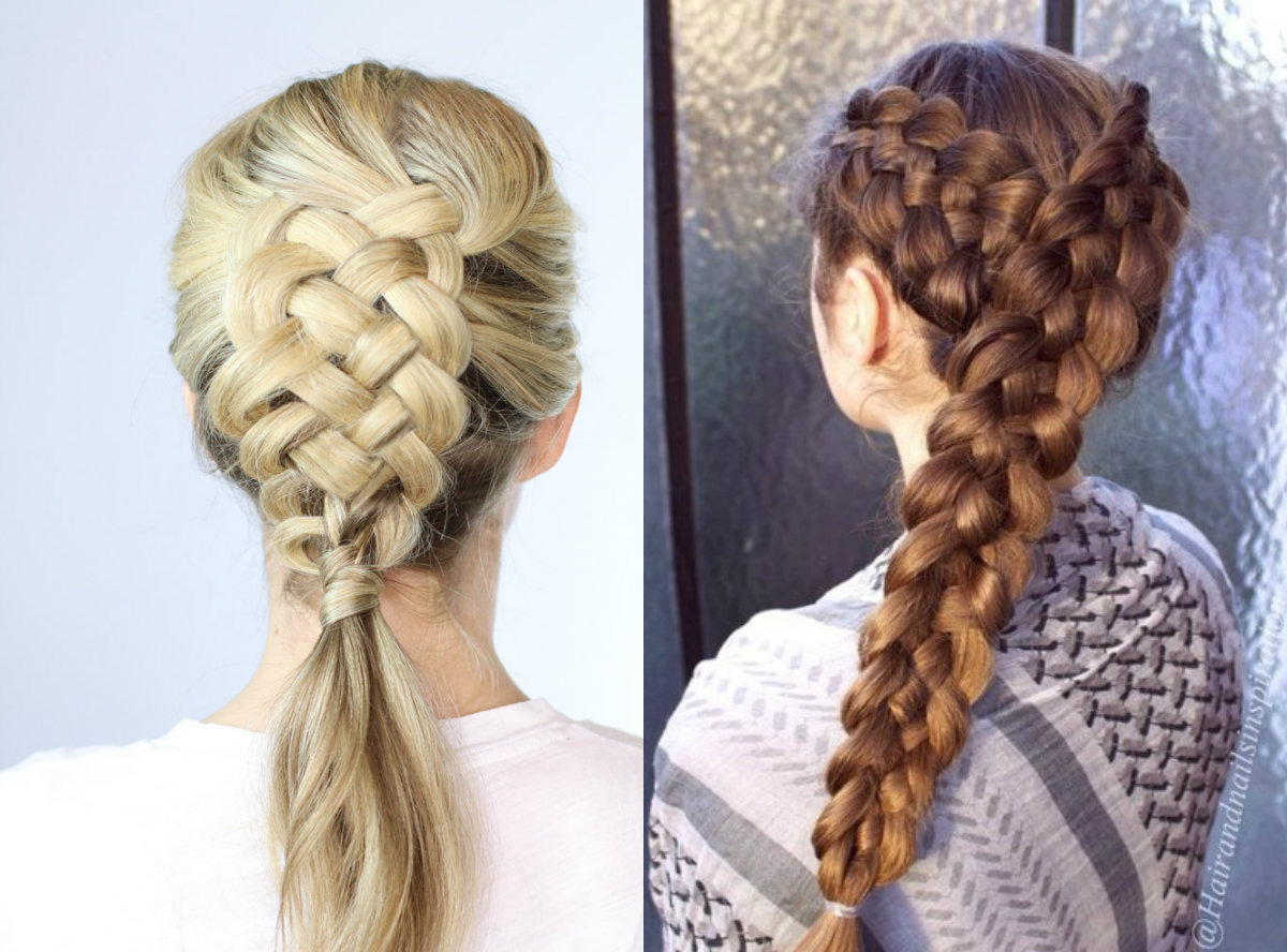 cute-five-strand-braids