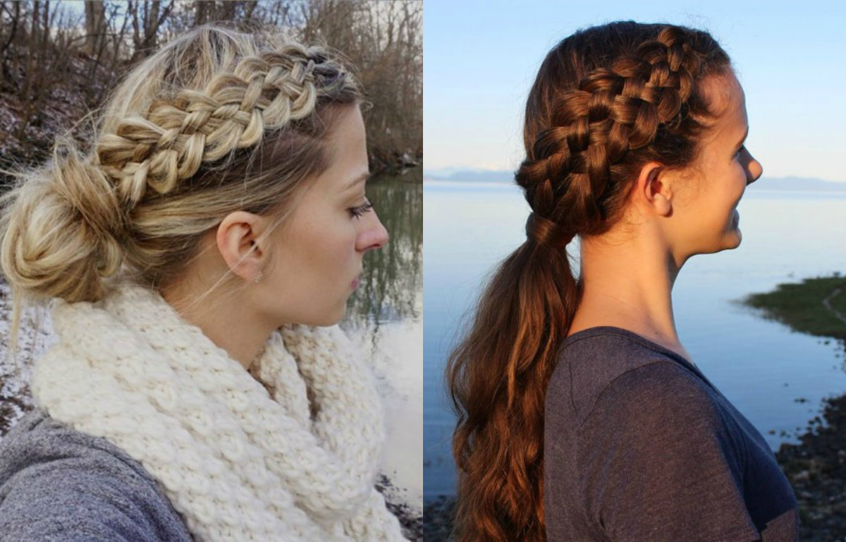 five-strand-braids-on-one-side