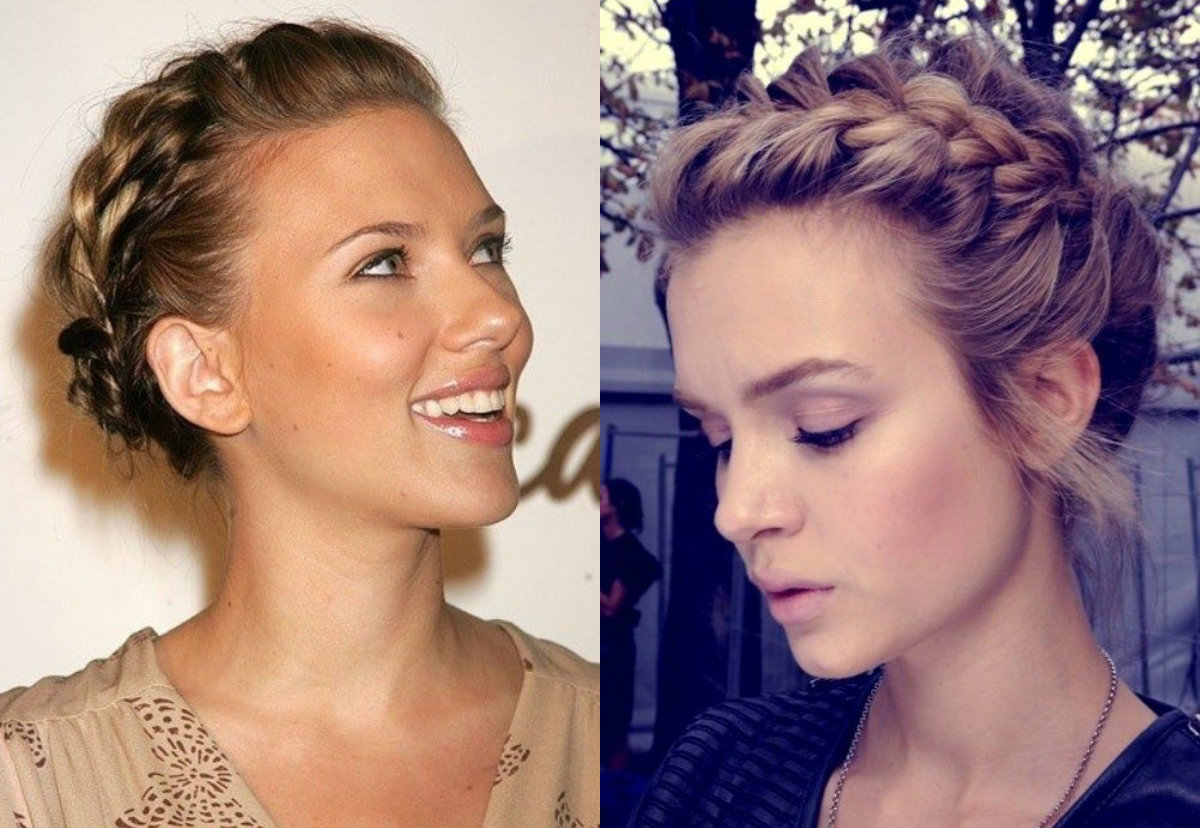 Cute Short Hair Updo Hairstyles You Can Style Today Hairdrome Com