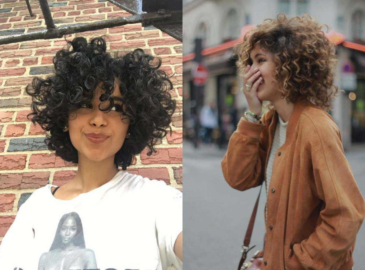 Prime Absolutely Adorable Curly Bob Hairstyles Hairdrome Com Short Hairstyles For Black Women Fulllsitofus