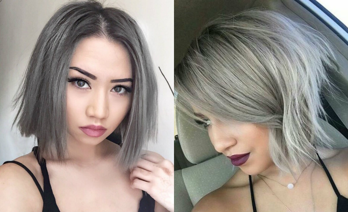 Dare Try Ice Cold Silver Bob Hairstyles | Hairdrome.com