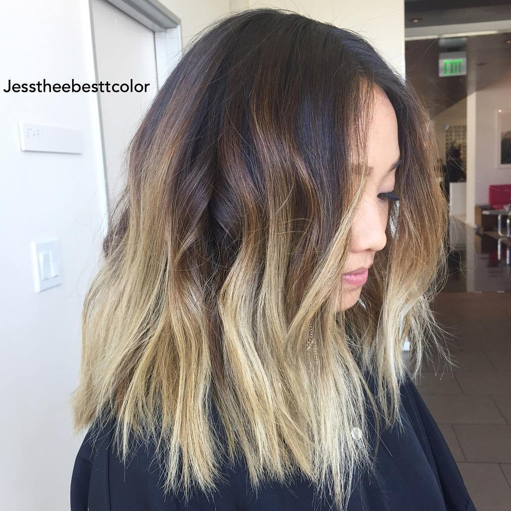 messy-wavy-ombre-long-bob