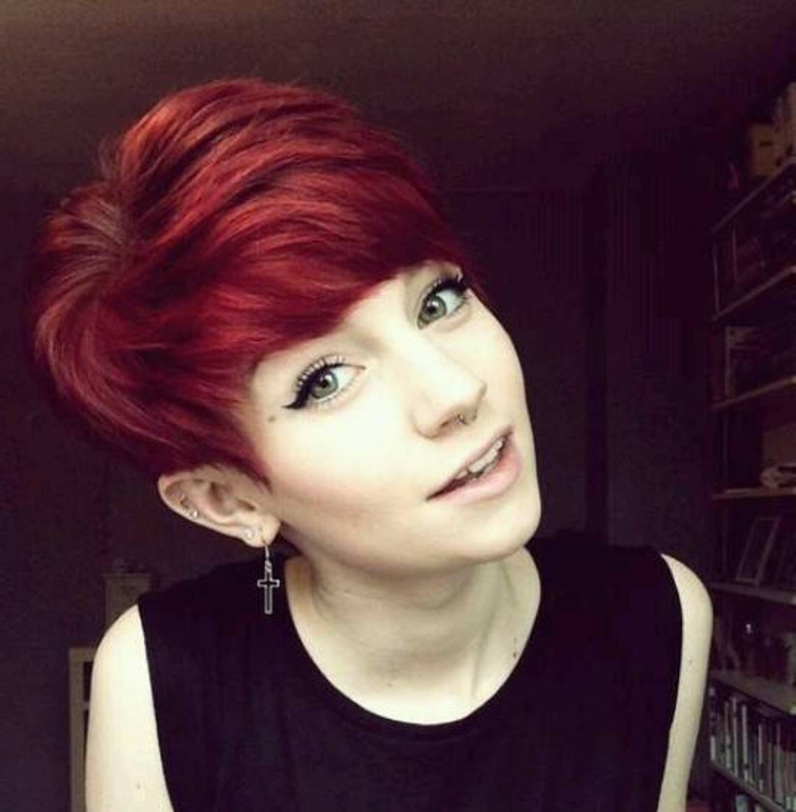 red-layered-pixie-cut