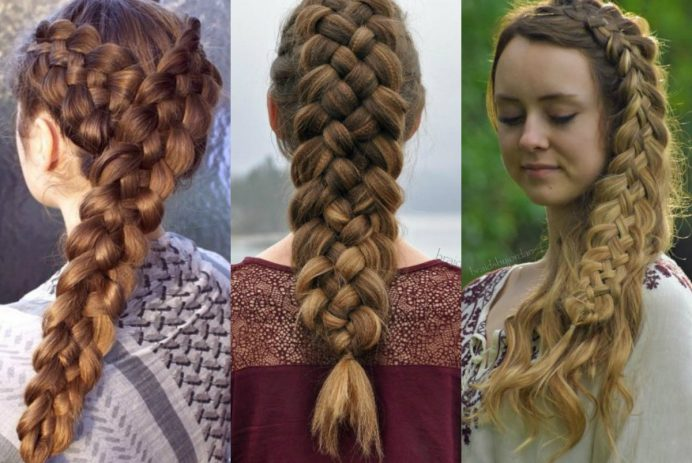 romantic-five-strand-braids-hairstyles