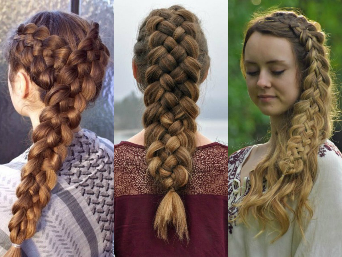 adorable 5 strand braid hairstyles in easy way hairdromecom