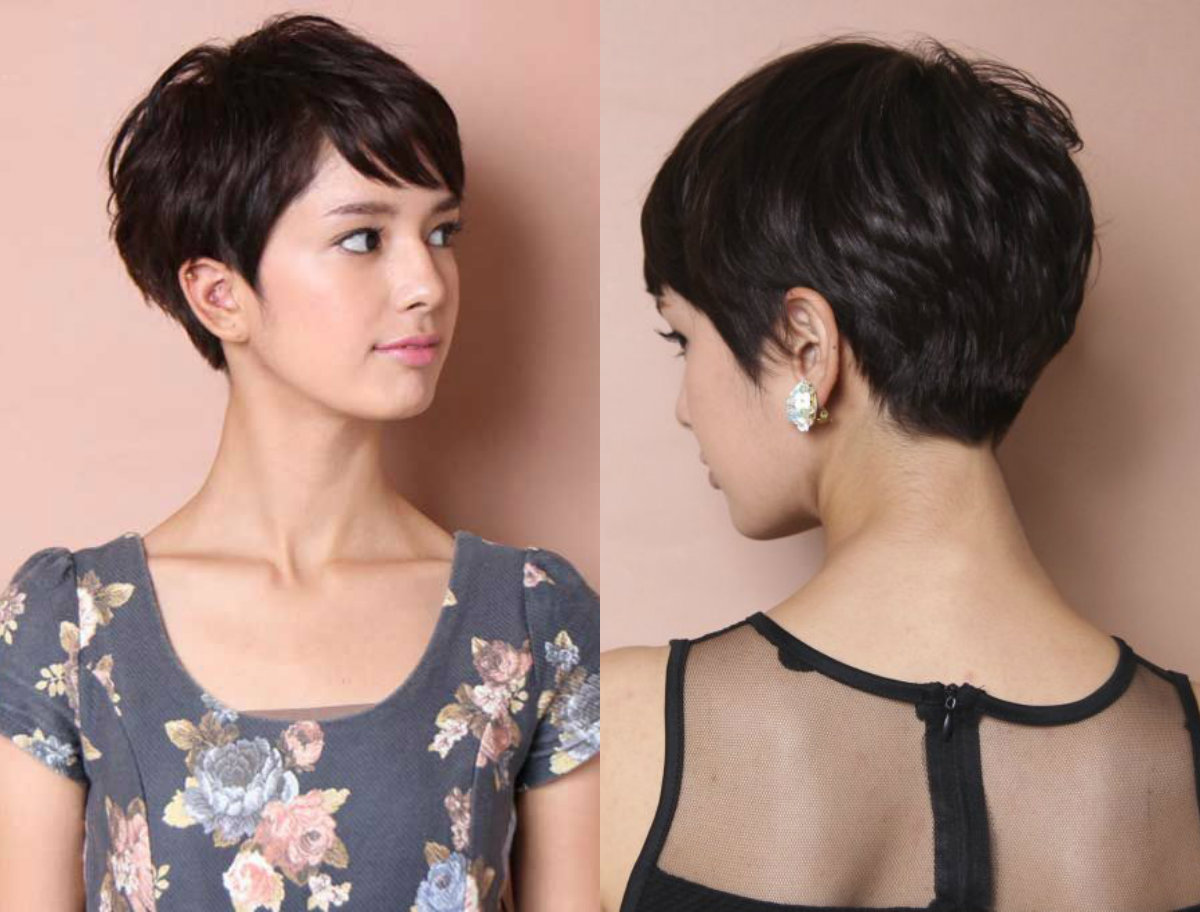 short-black-layered-pixie-cuts-2017