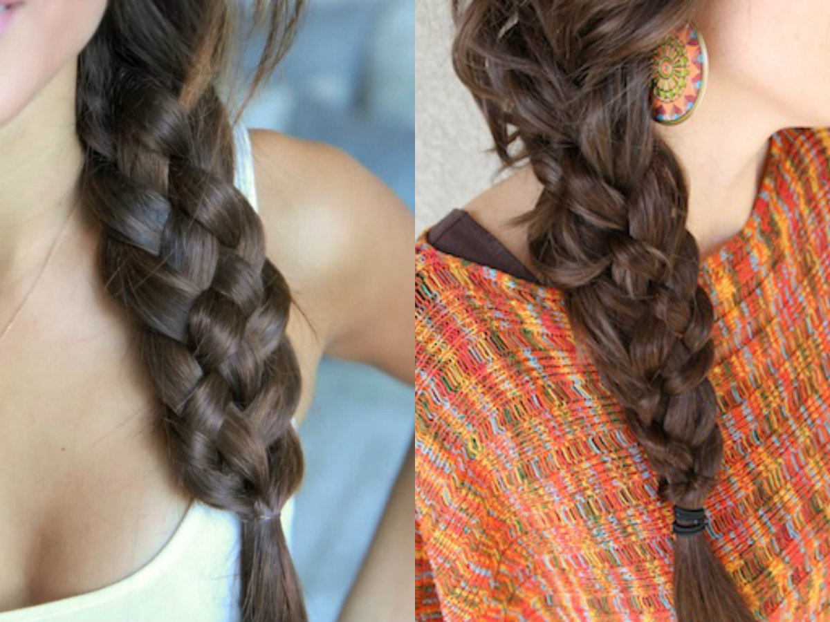 side-five-strand-braids-hairstyles