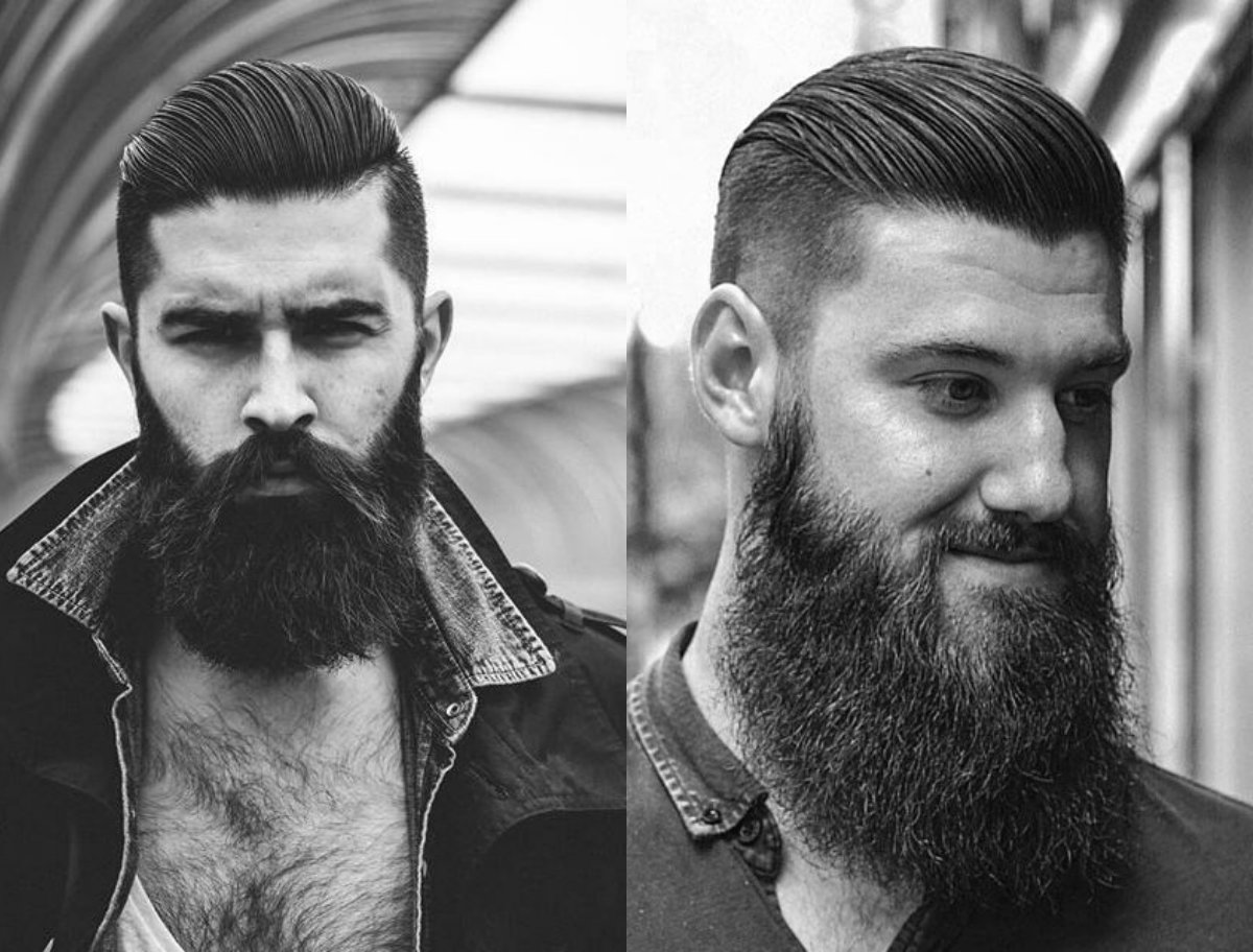 Cool Undercut With Beard Mens Hairstyles 2017