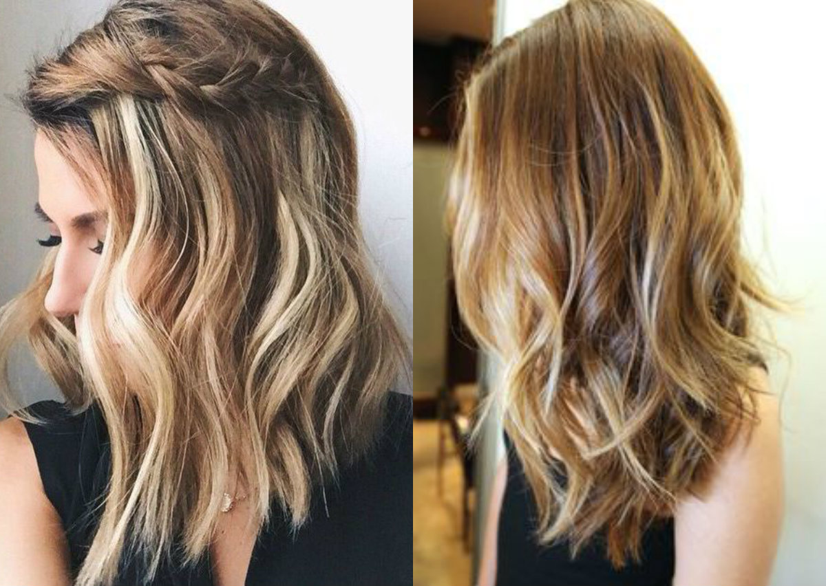 Summer Hairstyles For Medium Length Hair 2017 : Casual mid length hairstyles hairdrome