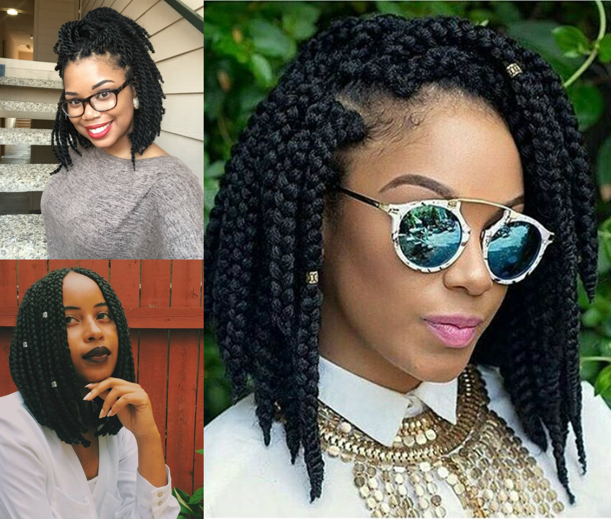 best-short-box-braids-hairstyles
