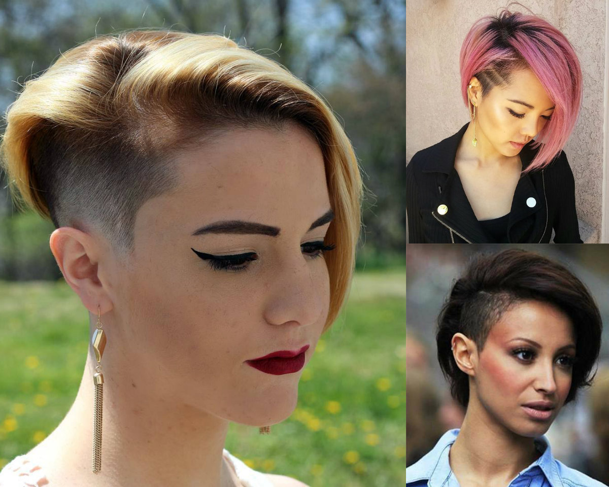 Crazy Undercut Bob Hairstyles To Try Hairdrome