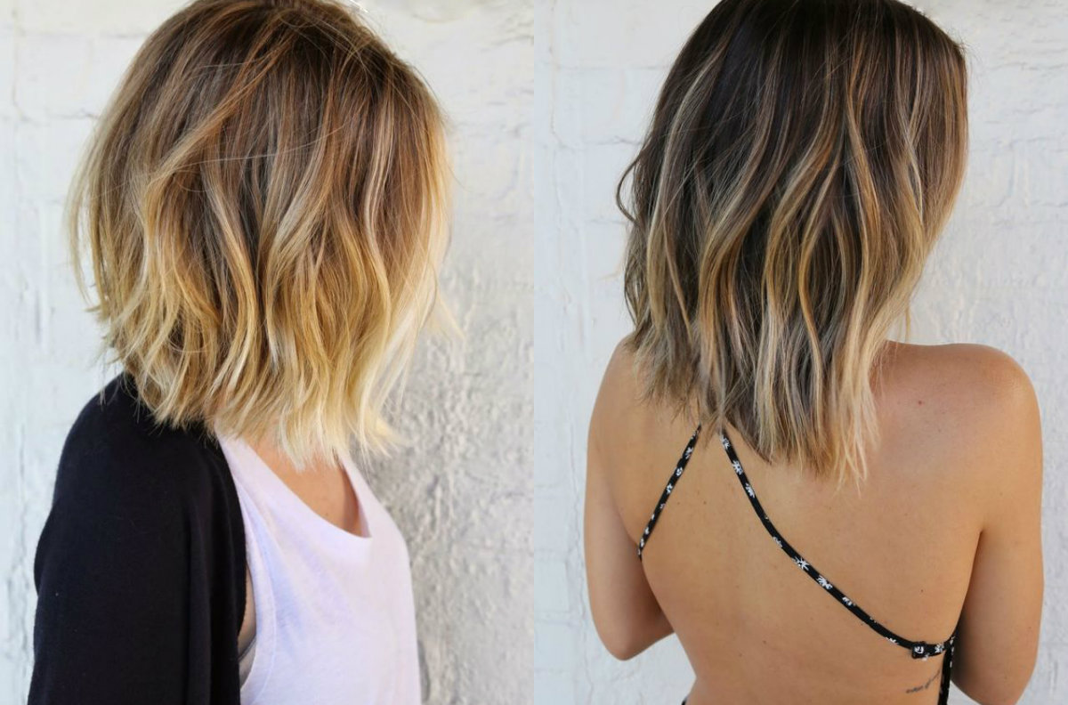 What About Short Hair Balayage? | Hairdrome.com