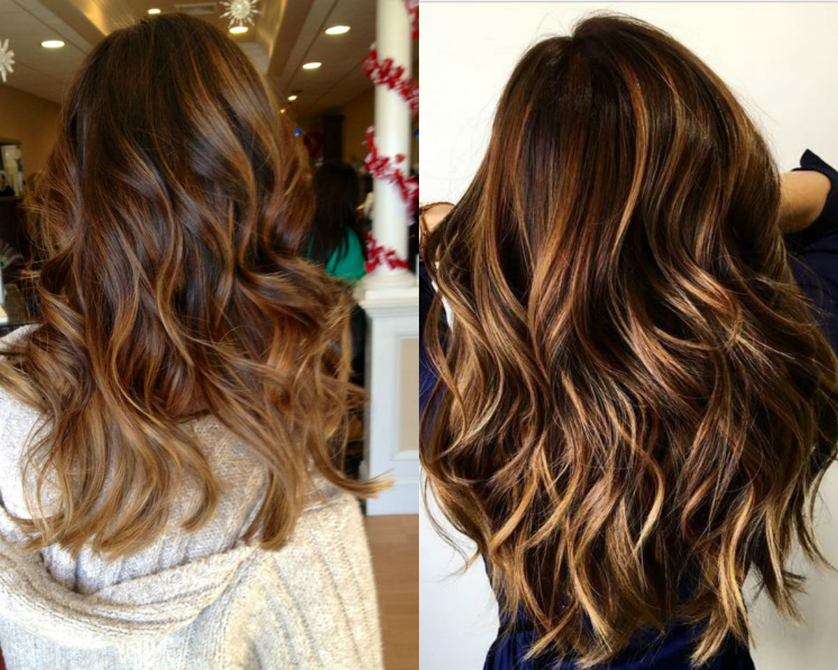Cinnamon Hair Color Trends 2017 Summer Brown With Highlights